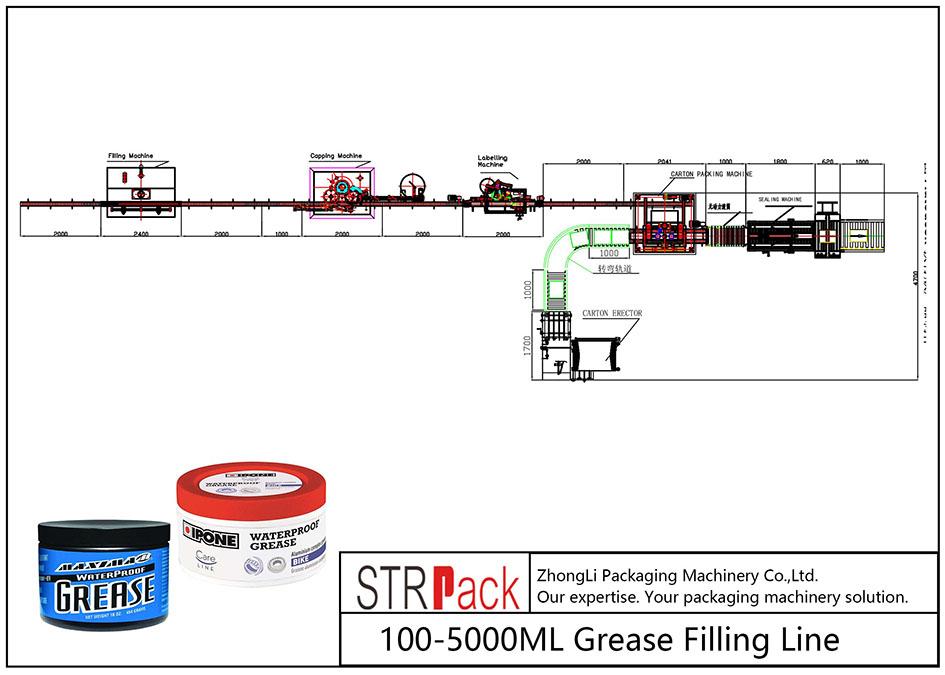 100ML-5L автоматты толтыру желісі
