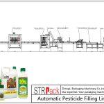 Пестицидтерді автоматты толтыру желісі