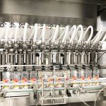 Linear Filling Machine Dishwashing Liquid – Filling and Capping Machine