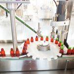 Сұйық дәрумендерді толтыру үшін автоматты түрдегі машинаны орау желісі