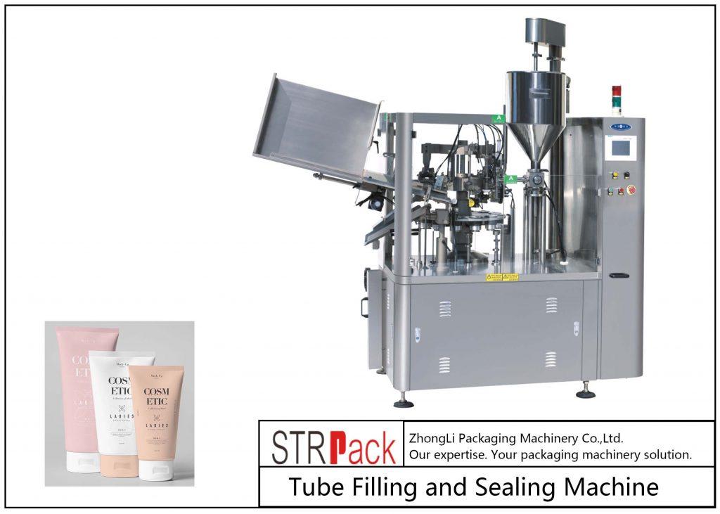 SFS-100 пластикалық түтіктерді толтыру және герметизациялау машинасы