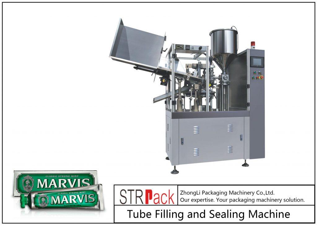 SFS-60 пластикалық түтіктерді толтыру және герметизациялау машинасы